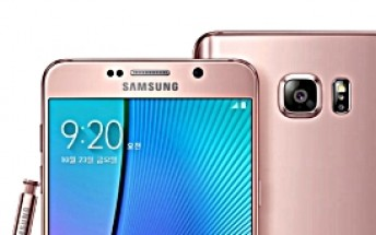 Samsung Galaxy Note5 now comes in two new colors