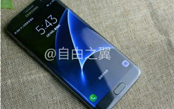 Samsung Galaxy S7 edge photographed in the wild, again