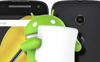 Android Marshmallow now available for Moto E (2nd Gen) in India