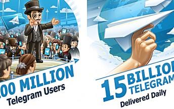 Telegram surpasses 100 million users milestone, delivers 15 billion messages daily