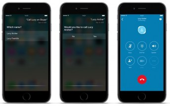 Skype for iPhone and iPad now supports Siri and new iOS 10 features