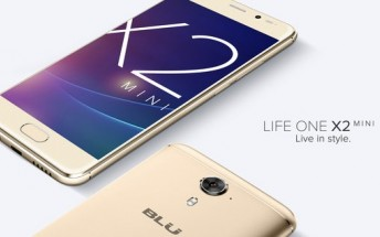 BLU Life One X2 Mini with 5-inch display and 4GB RAM launched