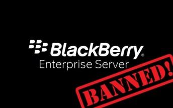 BlackBerry's enterprise services will no longer function in Pakistan