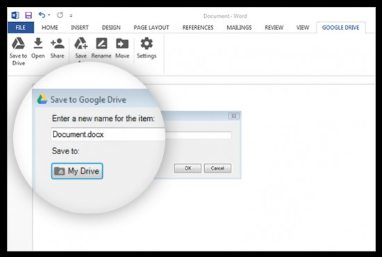how to access google drive documents