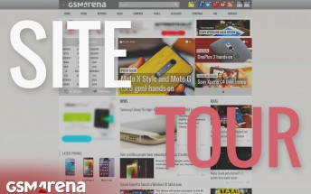 A brief site tour of the new GSMArena.com