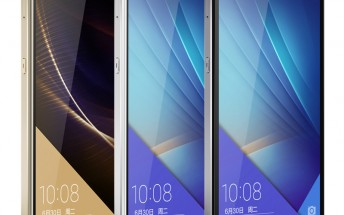 Huawei's Honor 7 will be sold in Europe, the company reveals