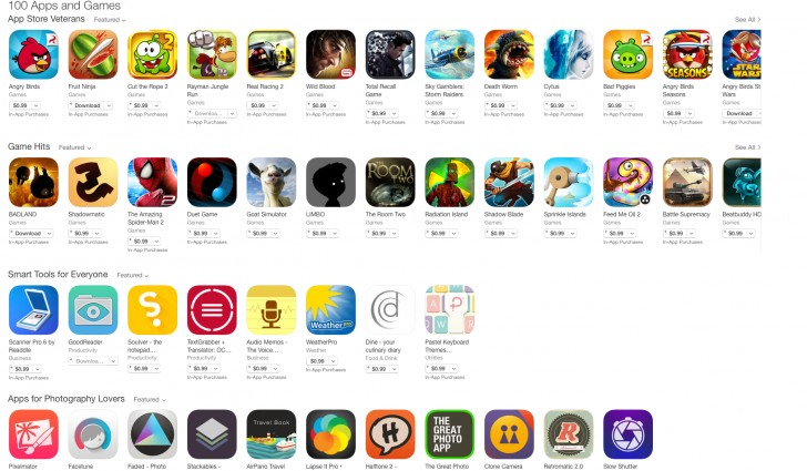 highest rated game apps
