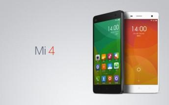 64GB Xiaomi Mi 4  gets a price cut in India