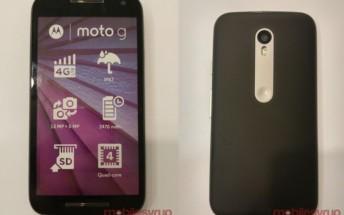 Moto G (3rd gen) dummy unit confirms IPx7 certification