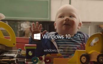 Microsoft starts Windows 10 ad campaign focusing on children