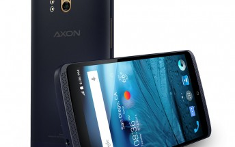ZTE Axon gets official for the US with top