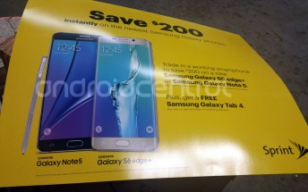 Sprint $200 trade-in leaflet reveals Galaxy Note 5 and S6 edge+