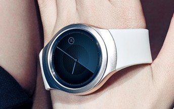 Samsung Gear S2 smartwatch appears in a duo of official promo images