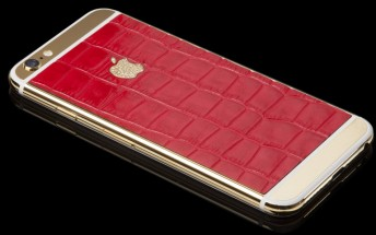 Goldgenie customers are too rich to wait, can pre-order 24K gold iPhone 6s and 6s Plus now