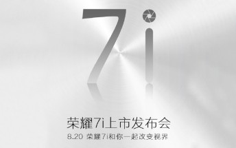 Honor 7i to be announced on Aug 20, Huawei Mate 7 plus on the way