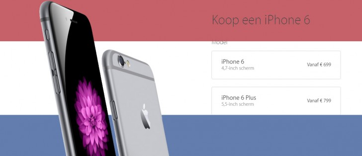dutch iphone 6s and 6s plus prices leaked still the same. Black Bedroom Furniture Sets. Home Design Ideas