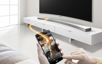 LG announces new curved sound bar to complement its curved TVs