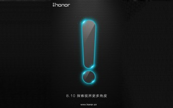 Huawei teases a new Honor smartphone for August 10