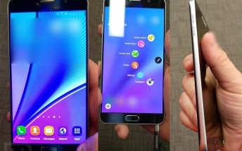 Samsung Galaxy Note 5 now portrayed in detailed hands-on pictures
