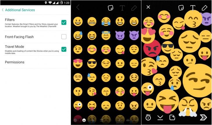 Snapchat Update Brings Data Saver Mode Emojis Gsmarena Blog