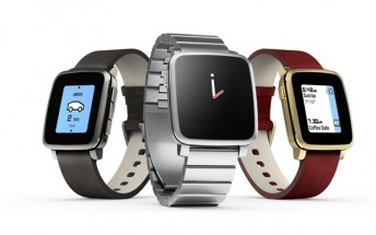 Pebble Time Steel is now available for pre-order