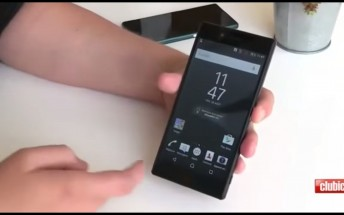 Hands-on video of Xperia Z5 leaks, confirms rumored specs