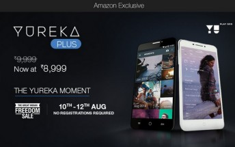 Yu Yureka Plus to go on open sale starting today
