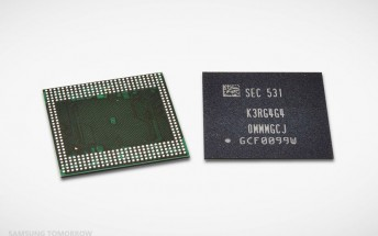 Samsung starts producing 6GB RAM chips for smartphones