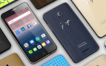 Alcatel unveils the OneTouch Pop Up, Star and Go Play phones, Go Watch
