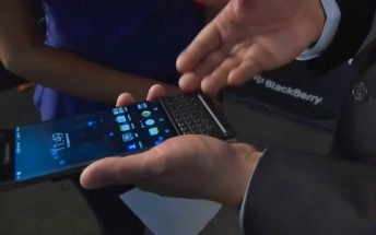 BlackBerry Priv showcased (sort of) by company CEO