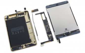 iFixit dismantles the iPad mini 4, finds a smaller battery inside