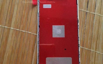 Front panel of iPhone 6s Plus pictured, Force Touch controller in tow