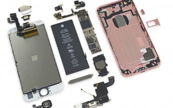 iPhone 6s torn down by iFixit, display assembly weighs 60g