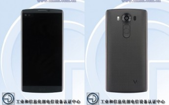 Dual-screen LG V10 is shown in another leaked image