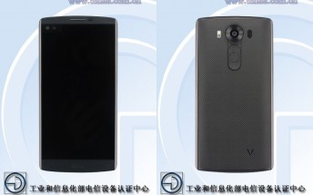 LG V10 phablet passes through TENAA with high-end specs, secondary display