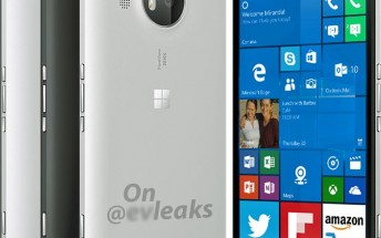 Leaked Microsoft Lumia 950 XL render shows the flagship in white