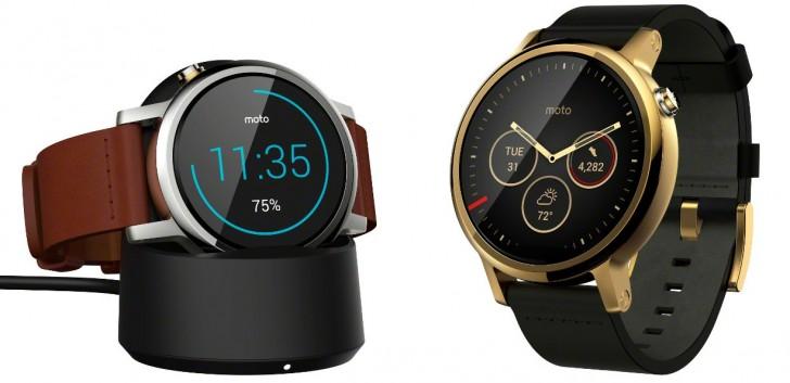 Motorola Unveils Moto 360 2nd Gen And Moto 360 Sport