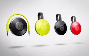 Updated Google Chromecast and Chromecast Audio unveiled