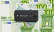 gsmarena 002 Nexus 5X costs €480 in Europe, £340 in the UK, ouch!