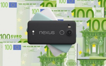 Nexus 5X costs €480 in Europe, £340 in the UK, ouch!