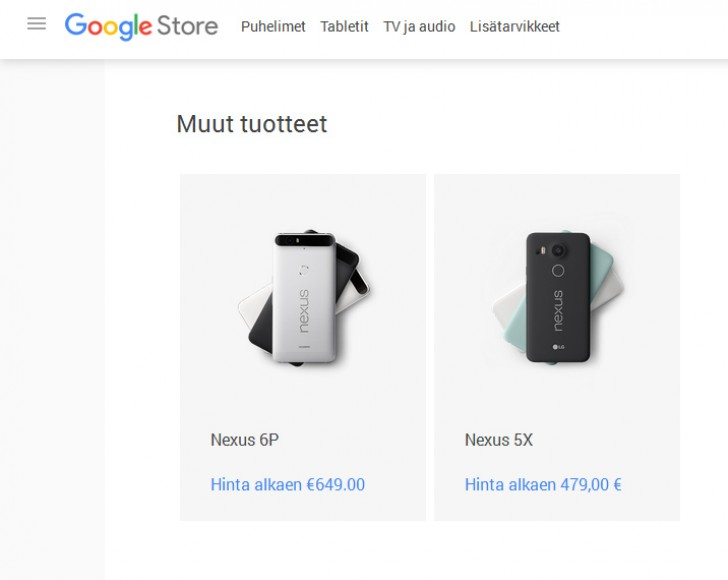 gsmarena 001 Nexus 5X costs €480 in Europe, £340 in the UK, ouch!