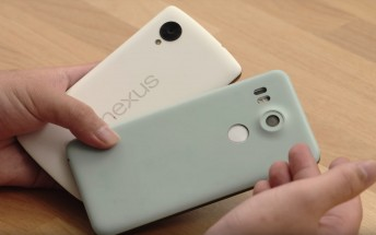 Nexus 5X prototype handled on video hours before announcement