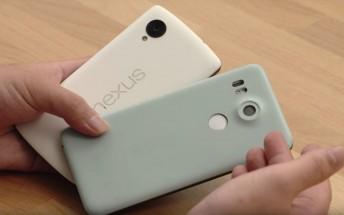 Nexus 5X prototype handled on video hours before announcement