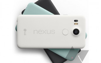LG Nexus 5X gets the leaked press render treatment too