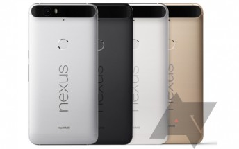 Huawei Nexus 6P gets portrayed in leaked press renders