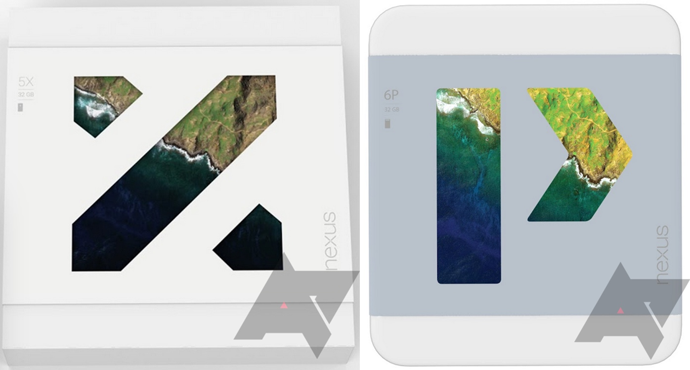 main Nexus 5X and Nexus 6P names confirmed by leaked retail boxes