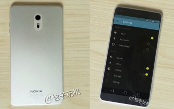 Live photos offer the first real look at the Nokia C1 Android phone