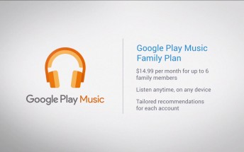 Google Play Music All Access Family Plan becomes official for $14.99 per month