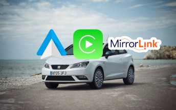 SEAT cars will support Apple Car Play, Android Auto and MirrorLink
