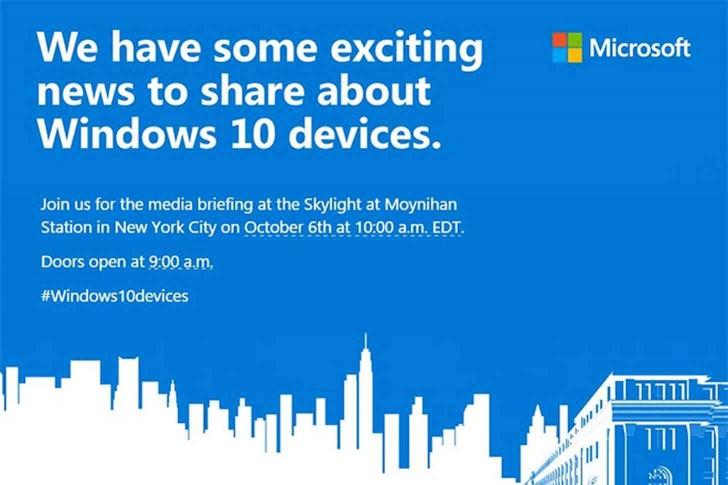 در این تصویر آمده است که عرضهی محصولاتی با ویندوز 10 نزدیک میشویم.